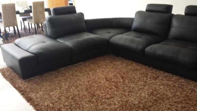 Urgente: Conjunto de sofás com mesa de canto + Chaise Longue.