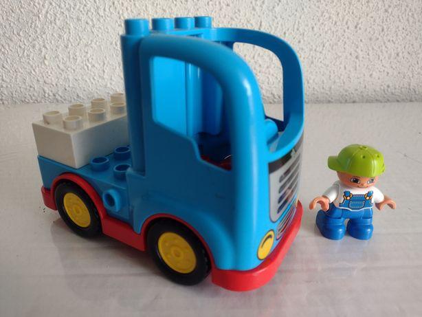 LEGO Duplo klocki samochód i postać kierowcy / dla 2-3 latka