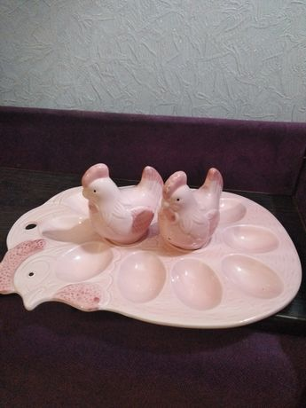 Подставка для яиц, соли и перца
