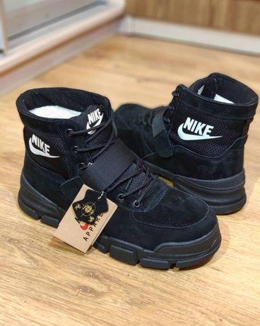 Подростковые зимние ботинки унисекс Nike 37-41-й р.
