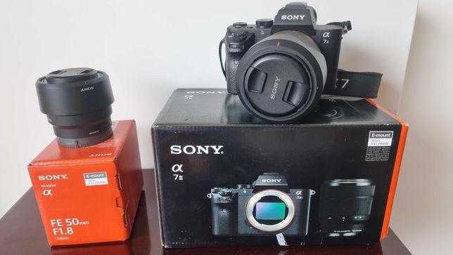 Maquina Fotografia SONY A7II