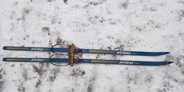 Продам лыжи. БУ. СССР.