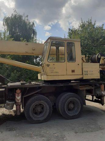 Уменьшение! Продажа Собственник Автокран КРАЗ 250(КС 55712) 25т рабоч!