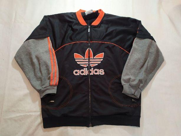 Вінтажна вітрівка Adidas 80-90 их в стилі Макса Коржа