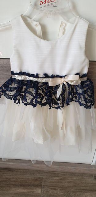 Sprzedam sukieneczke ecru roz 86