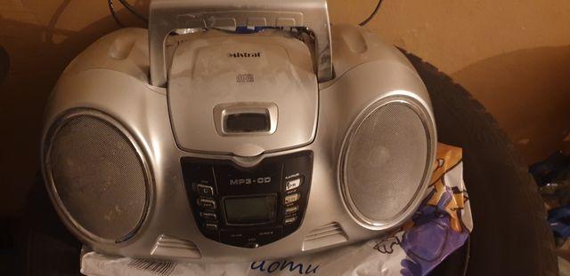 Radio cd z usb..