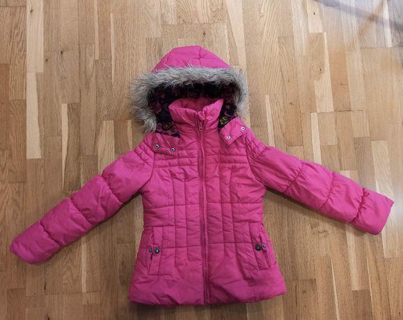 Zimowa kurtka dla dziewczynki 7-8 lat