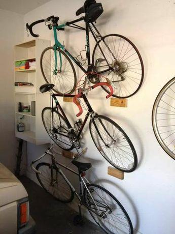 Suportes para arrumação ou exposição de bicicletas