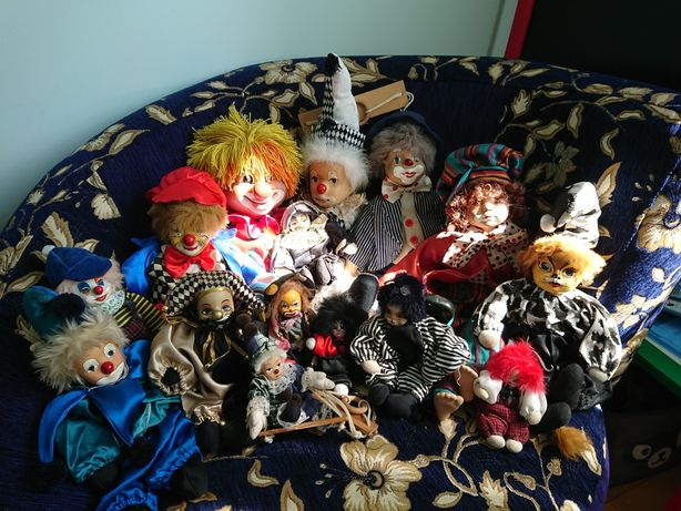 Коллекция клоунов