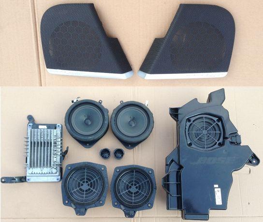 Zestaw Głośniki Bose Subwoofer Wzmacniacz Wiazka Audi S3 A3 8P 3D