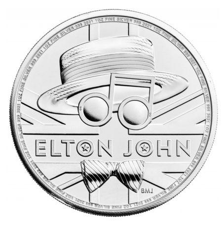 Elton John Silver