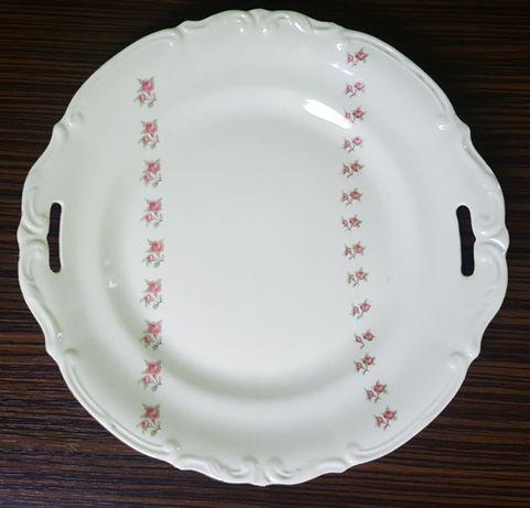 Talerz porcelanowy Tułowice * róże