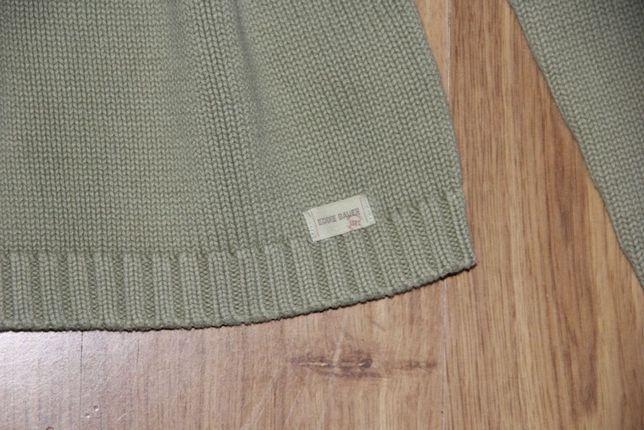 Zielona sweter bluzka S Eddie Bauer bawełna mohito plein levis zara 36