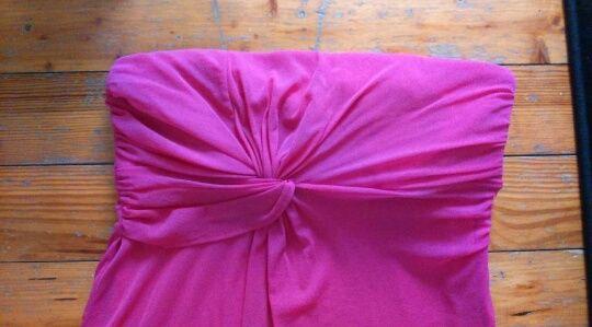 Sukienka ESPRIT, neonowa, różowa, neon, METKOWANA, róż, rozmiar XL