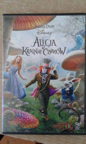 Alicja w krainie czarów DVD Johnny Depp