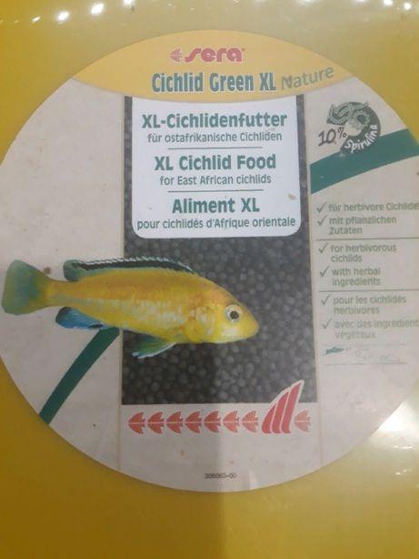 Ciclídeos Africanos Sera XL - comida para peixes grandes