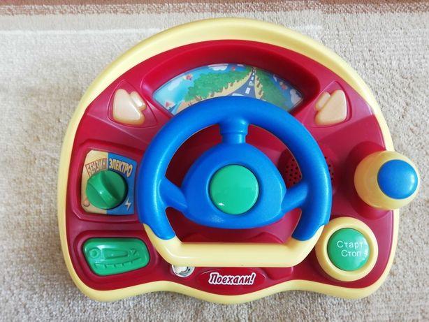 Руль детский музыкальный