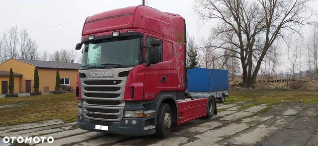 Scania R480  Scania R480 Topline Po generalnym remoncie silnika.