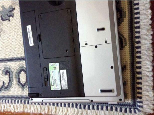 Portátil hp pavilion dv5000 para peças falta disco resto completo vend