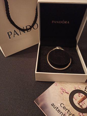 Nowa Bransoletka Pandora, r. 16, serce