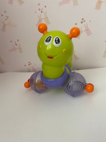 """Детская каталка """"Гусеница на палке"""" Huile toys"""