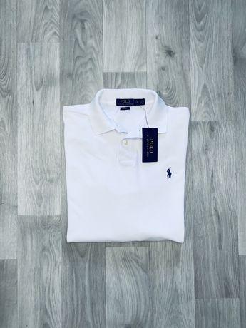 Новый оригинальный лонгслив-поло Polo Ralph Lauren (L-XL)