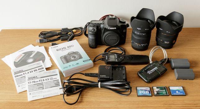Canon EOS 40D zestaw