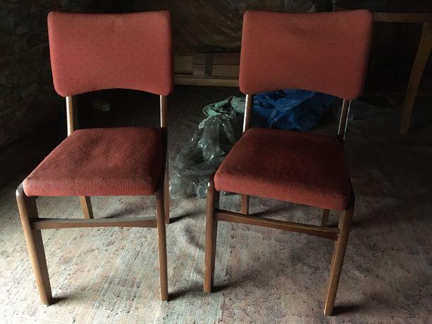 Krzesła retro PRL vintage