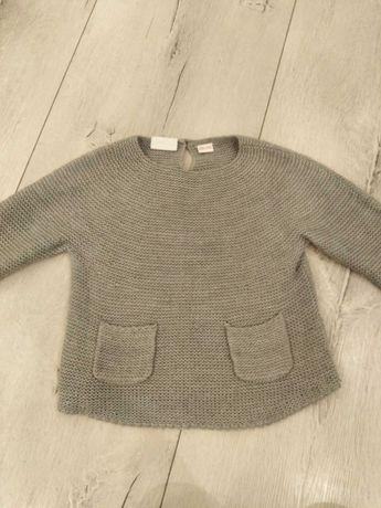 Szary sweterek ZARA