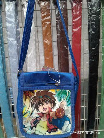 Новая сумка барсетка для мальчиков и девочек для тренировок и школы