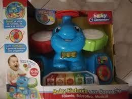 Clementoni Baby Elefante em Concerto NOVO