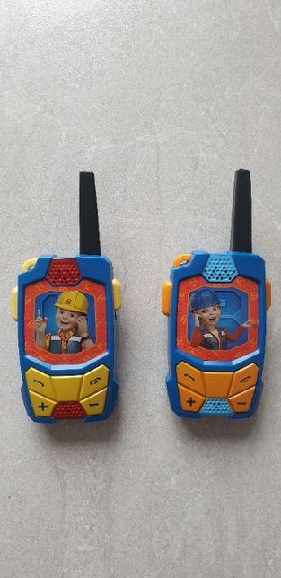 Walkie Talki Bob Budowniczy - telefon Boba!