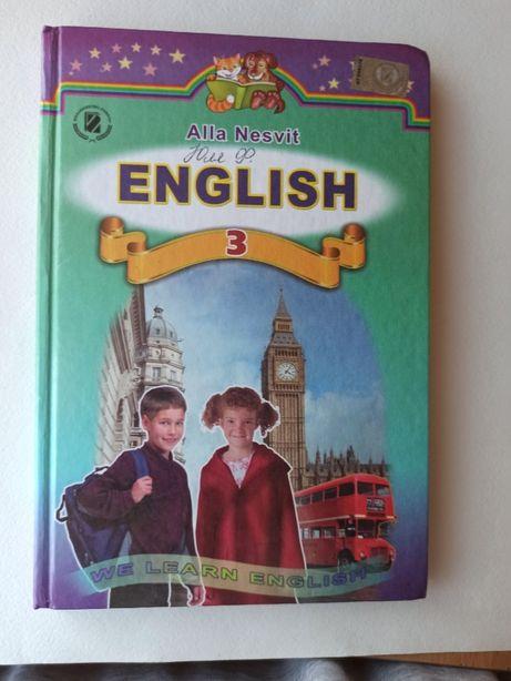 Підручник с англійської мови Несвіт 3 клас