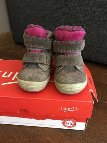 Ботиночки superfit 21размер, термо ботинки, зимние