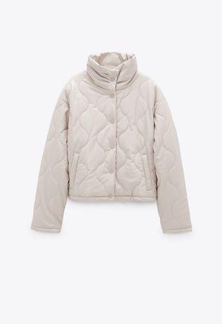 Куртка зі штучної шкіри Zara 2020