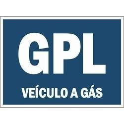 GPL Autocolante Azul Dístico Vinheta - Correio azul e IVA incluído.