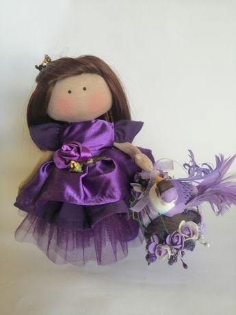 Текстильная кукла, декор