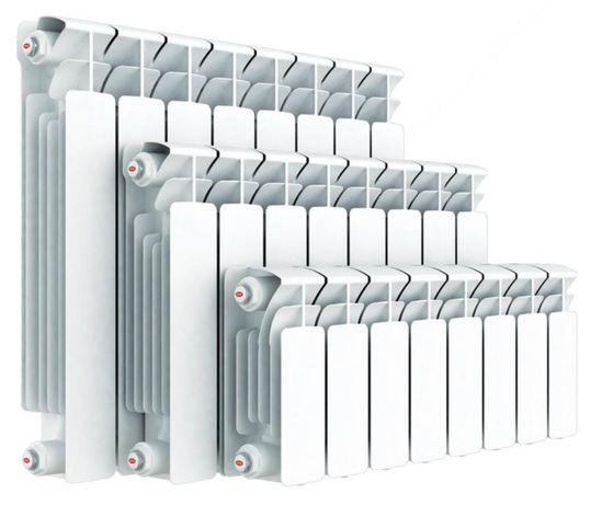 Радіатор алюмінієвий Биметал на центральне опалення 50/80 50/96 50/100