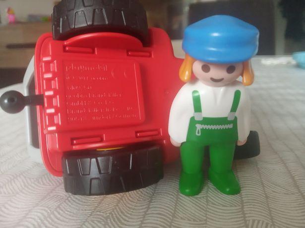 Playmobil traktorek