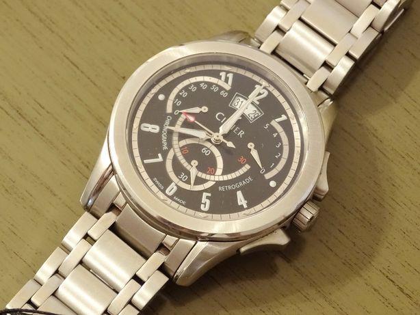 Cimier 2410-SS022 мужские швейцарские наручные часы хронограф оригинал