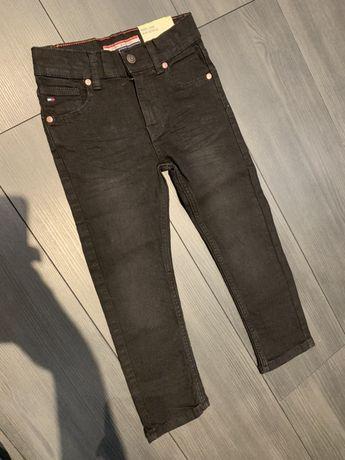 Spodnie oryginalne jeansowe czarne Tommy Hilfiger