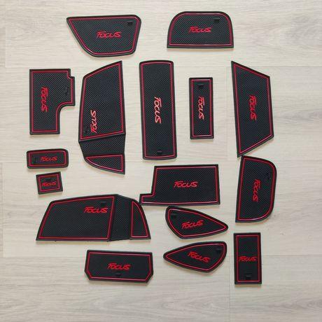 Резиновые коврики Форд Фокус 3 Ford Focus 3