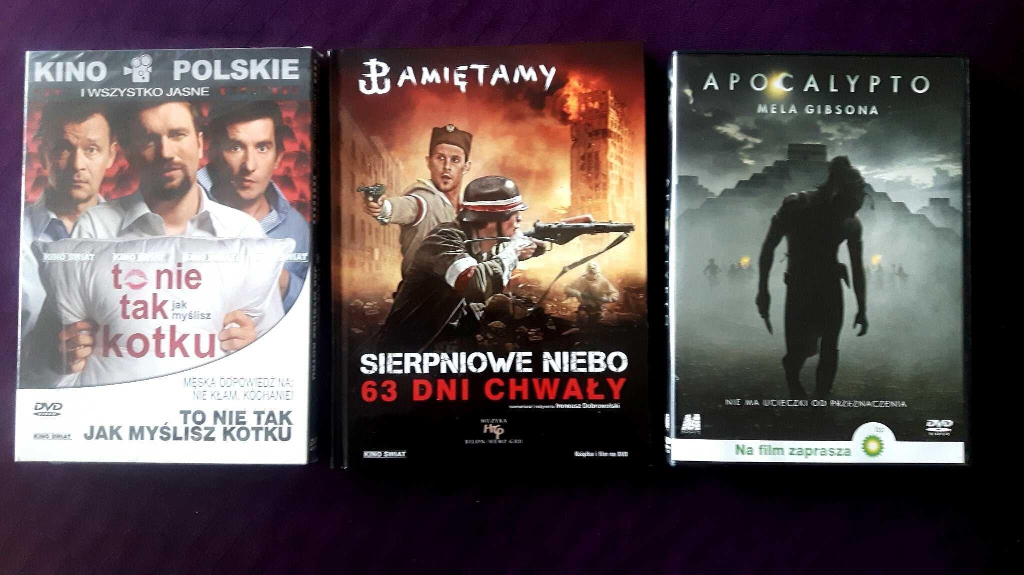 Zestaw 3 DVD. Nowe! Mel Gibson + 2 Polskie