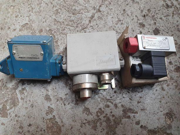 Olejowy czujnik ciśnienia