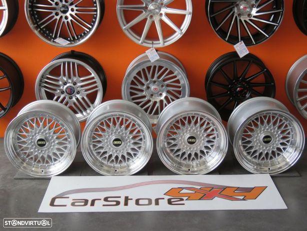 Jantes Look BBS RS 17 x 8.5 et20 + 10 et 15  4x100 / 114.3