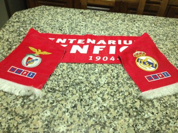Cachecol Benfica Centenarium 2004