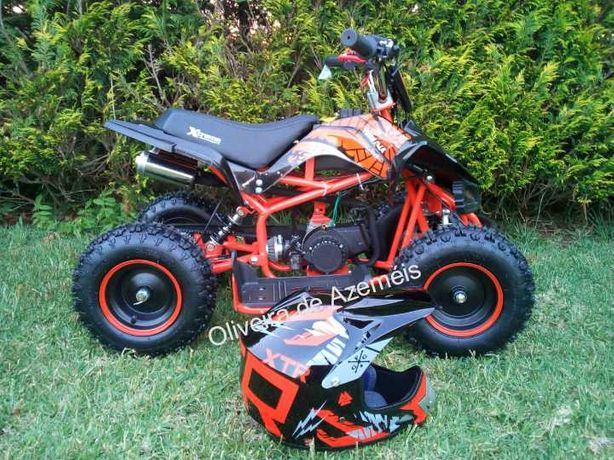 Capacetes para criança para mini motas e moto 4