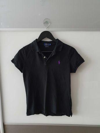 Polo t-shirt Ralph Lauren M czarna dziecięca