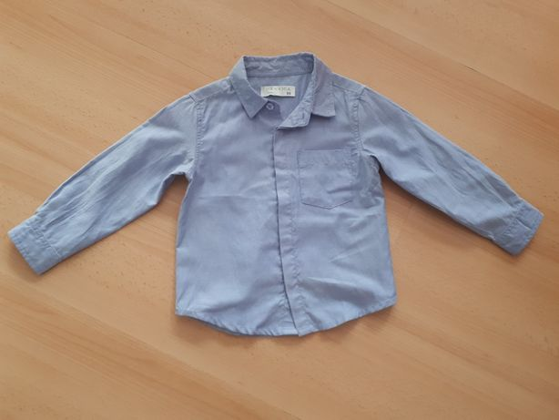 Koszula błękitna r.98 2-3l.