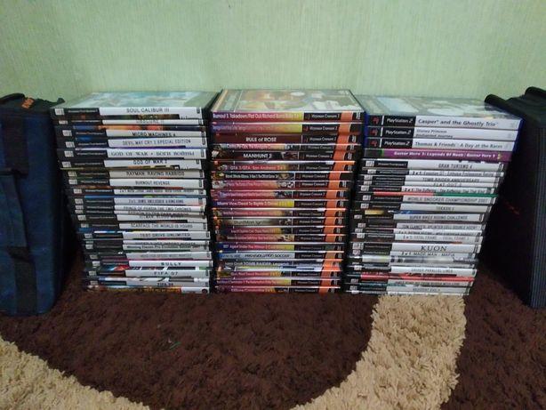 Продам диски на PS2 пс2.